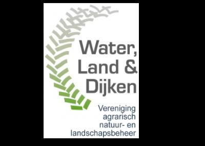 logo Water Land en Dijken