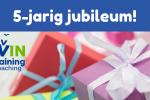 5-jarig jubileum MAVIN training & coaching