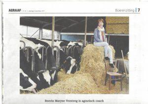 foto van agrarisch coach Maryse Versteeg
